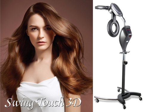 Create Swing Touch 3D hair processor